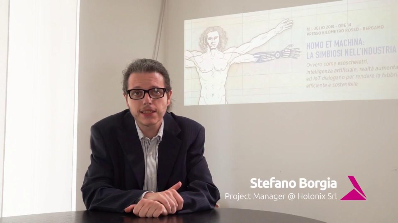 Stefano Borgia Holonix KM rosso